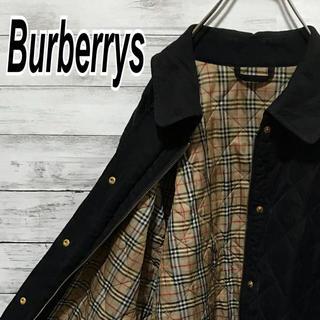 BURBERRY - バーバリー 90s キルティング ジャケット ブルゾン ノバチェック ビンテージ