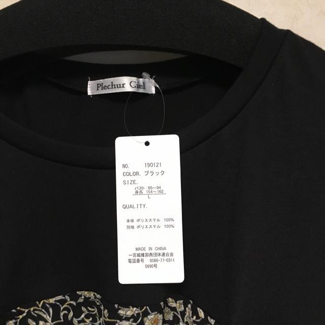 しまむら(シマムラ)のしまむら  切り替えカットソー レディースのトップス(カットソー(半袖/袖なし))の商品写真