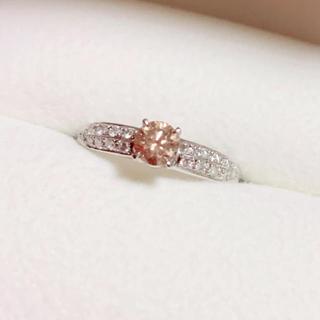 週末値下げ♪ 0.4ct超えピンクダイヤモンドリング(リング(指輪))