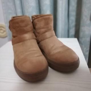 クロックス(crocs)のクロックス ショートブーツ w8 24cm ブラウン(ブーツ)