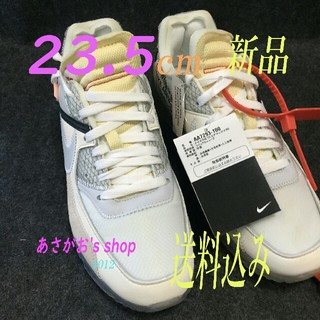 OFF-WHITE - NIKE OFF WHITE AIR MAX エアマックス 90 23.5cm