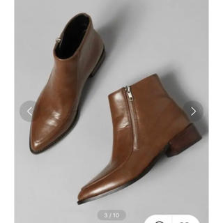 ジーナシス(JEANASIS)のポインテッドZiPブーツ(ブーツ)