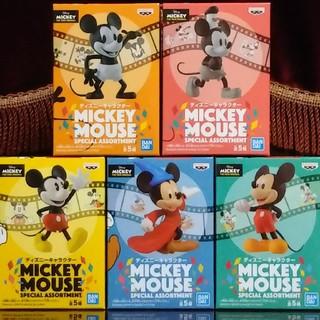 ミッキーマウス - MICKEY MOUSE SPECIAL ASSORTMENT 全5種セット