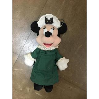 ミニーマウス(ミニーマウス)の人気完売品 激レア ホーンテッドマンション キャスト衣装 ミニー ぬいぐるみ(キャラクターグッズ)