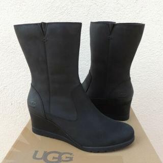 アグ(UGG)の新品/未使用 ♪UGG JOELY 撥水加工 ウェッジブーツ 26.5cm(ブーツ)