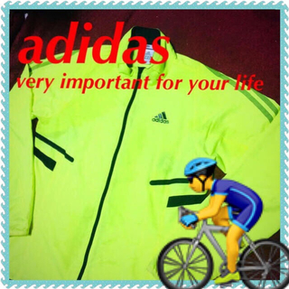 アディダス(adidas)の❇️【adidas】スマートスリムでバタつかず☆‼️ ウインドジャケット(ウエア)