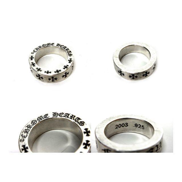 Chrome Hearts(クロムハーツ)のクロムハーツ■6mm FOREVERスペーサー シルバー リング メンズのアクセサリー(リング(指輪))の商品写真