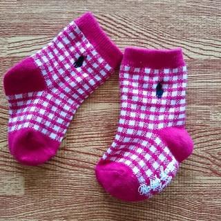 ラルフローレン(Ralph Lauren)の未使用 ラルフローレン 靴下 ベビー ソックス 9センチ(靴下/タイツ)