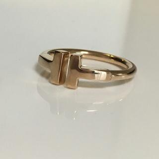ティファニー(Tiffany & Co.)のティファニー Tワイヤー リング8号(リング(指輪))
