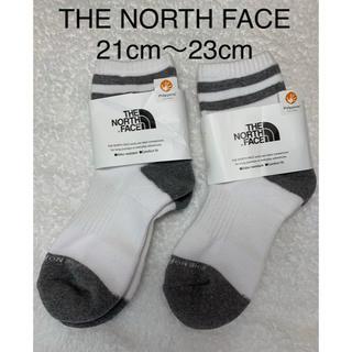 ザノースフェイス(THE NORTH FACE)の新品   THE NORTH FACE トラバース ライン ソックス 2足セット(ソックス)