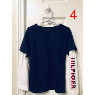 トミーヒルフィガー(TOMMY HILFIGER)の⭐️1/31まで⭐️Tommy Hilfiger  レイヤード風ロンT キッズ4(Tシャツ/カットソー)