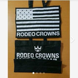 ロデオクラウンズワイドボウル(RODEO CROWNS WIDE BOWL)のロデオクラウンズワイドボウル  ショップ袋 ショップバッグ 2枚セット(ショップ袋)