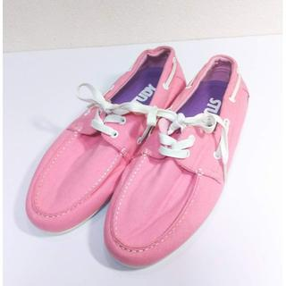 STUDY  ピンク シューズ サイズ7 25㎝(スニーカー)