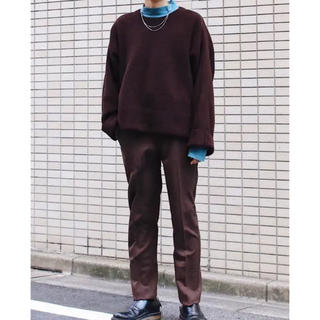 アンユーズド(UNUSED)のYOKE 7g oversized harf cardigan(ニット/セーター)