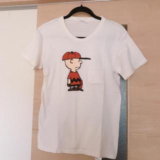 ロンハーマン(Ron Herman)のジャクソンマティス スヌーピー 刺繍 Tシャツ 半袖 ピーナッツ ポケット(Tシャツ(半袖/袖なし))