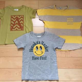 アーバンリサーチ(URBAN RESEARCH)のキッズ 半袖 綿100% Tシャツ 3枚セット(Tシャツ/カットソー)