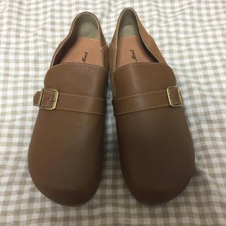 サマンサモスモス(SM2)の未使用 レザーシューズ(ローファー/革靴)