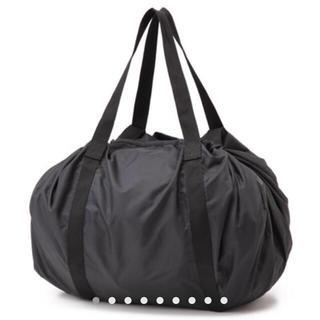 ムジルシリョウヒン(MUJI (無印良品))の絞るだけで包める ポケッタブルバッグ(エコバッグ)