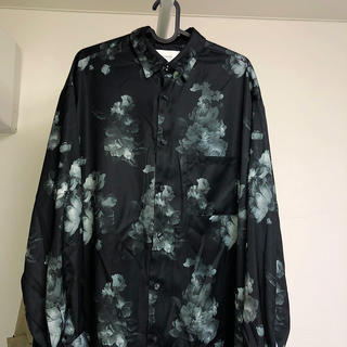 STUDIOUS - STUDIOUS ダークフラワーシャツ 薔薇服