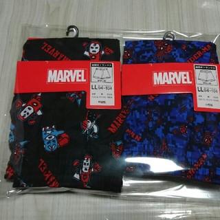 MARVEL - MARVEL スパイダーマン アベンジャーズ  メンズ トランクス 2枚 LL