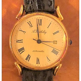FRANCK MULLER - アンティーク腕時計 バルトレー フランクミュラー 自動巻 クロコ