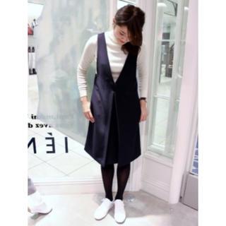 イエナ(IENA)の♡IENA♡ T/Rダブルクロス ジャンバースカート38サイズ(ひざ丈ワンピース)