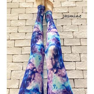 jasmine ヨギンス  ブルーグラデーション💙(ヨガ)