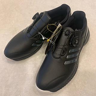 アディダス(adidas)の新品ゴルフシューズ23.5cm adidas アディダス Boa ダイヤル式(シューズ)