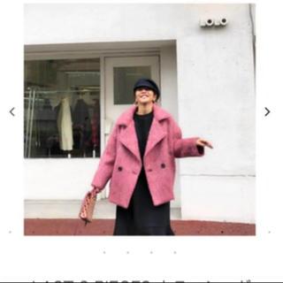 ザラ(ZARA)の10/12 限定価格 バースデーバッシュ ピンク シャギーコート(ピーコート)