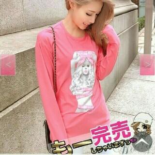 レディー(Rady)の新品radyのリボンちゃんピンク(Tシャツ(長袖/七分))