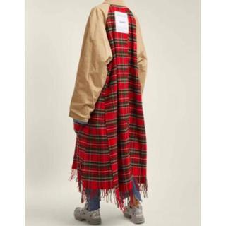 バレンシアガ(Balenciaga)のvetements定価49万正規 scarf trench coatsヴェトモン(ステンカラーコート)