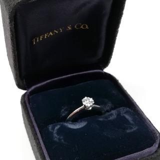 ティファニー(Tiffany & Co.)の未使用 ティファニー ソリティア 1P ダイヤ プラチナ リング AN40(リング(指輪))