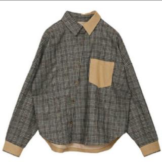 アメリヴィンテージ(Ameri VINTAGE)のアメリヴィンテージ チェックシャツ(シャツ/ブラウス(長袖/七分))