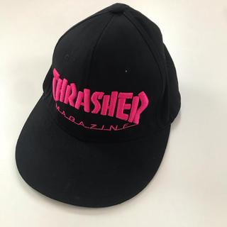 THRASHER - 美品★ THRASHER/スラッシャー  キャップ 帽子 サイズF
