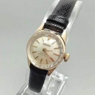 セイコー(SEIKO)の超希少 クイーンセイコー手巻き 23石 動作品 ビンテージレディース腕時計(腕時計)