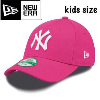 ニューエラー(NEW ERA)のニューエラ キャップ 子供 kids child NY ピンク(帽子)