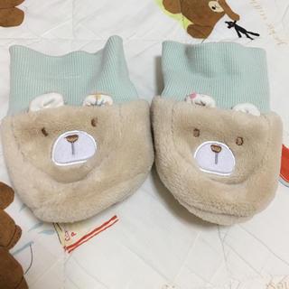 アフタヌーンティー(AfternoonTea)のベビー靴下 afternoon tea クマ(靴下/タイツ)
