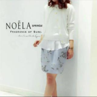 ノエラ(Noela)のNoela☆花柄スカート(ひざ丈スカート)
