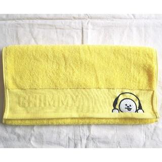 ボウダンショウネンダン(防弾少年団(BTS))のBT21公式 CHIMMY刺繍フェイスタオル 綿100%(タオル/バス用品)