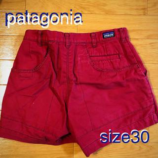 パタゴニア(patagonia)のパタゴニア/サイズ30/スタンドアップショーツ/ハーフパンツ/赤(ショートパンツ)