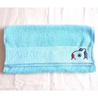ボウダンショウネンダン(防弾少年団(BTS))のBT21公式 MANG 刺繍フェイスタオル 綿100%(タオル/バス用品)