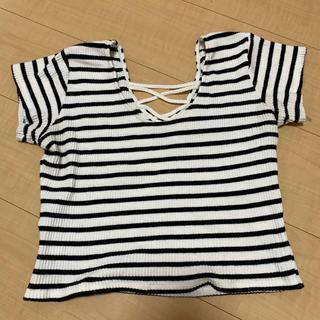 ジェイダ(GYDA)のGYDA ボーダー半袖(Tシャツ(半袖/袖なし))