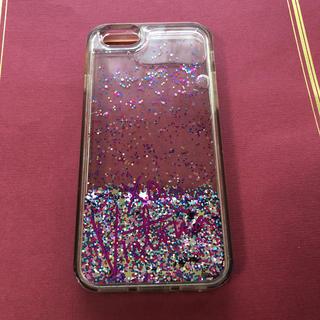 ヴィクトリアズシークレット(Victoria's Secret)の【送料無料】Victoria Secret Iphone8 キラキラ ケース(iPhoneケース)