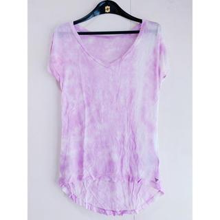 ゲス(GUESS)のGUESS(ゲス)タイダイシースルーTシャツ(Tシャツ(半袖/袖なし))