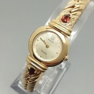 セイコー(SEIKO)の☆美品☆ SEIKO Exceline エクセリーヌ レディース腕時計 ゴールド(腕時計)