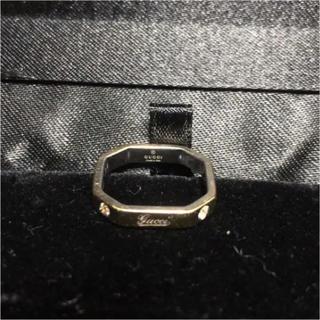 グッチ(Gucci)のGUCCI k18 ダイヤモンド 総重量 約3.5g 7号 指輪 リング(リング(指輪))