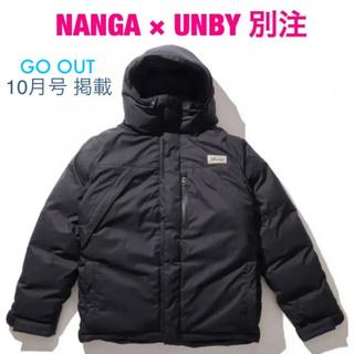 ナンガ(NANGA)のNANGA × UNBY別注 DOWN JACKET   black Lサイズ(ダウンジャケット)