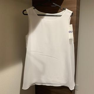 ジーユー(GU)のブラウス(シャツ/ブラウス(半袖/袖なし))