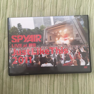 SPYAIR LIVE at 野音 Just Like This 2011(ミュージック)
