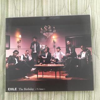 エグザイル(EXILE)のThe Birthday 〜Ti Amo〜(CD+DVD)(ポップス/ロック(邦楽))